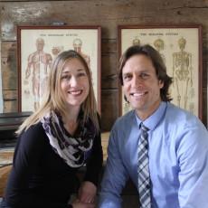 Drs. Aaron Stauber and Karen Palkovits-Stauber